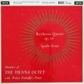 【モノラル】ウィーン・オクテット&パンホーファーのベートーヴェン/ピアノと管楽のための五重奏曲ほか  英DECCA 2921 LP レコード