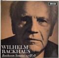 【モノラル】バックハウスのベートーヴェン/ピアノソナタ第12&18番  英DECCA 2921 LP レコード