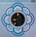 【オリジナル盤】メータのサン=サーンス/交響曲第3番「オルガン付き」  英DECCA 2921 LP レコード