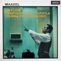 マゼールのシベリウス/交響曲第4番  英DECCA 2921 LP レコード