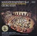 ショルティのマーラー/交響曲第8番「千人の交響曲」  独DECCA 2921 LP レコード