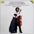 マイスキーのバッハ/無伴奏チェロ組曲全集   独DGG 2921 LP レコード
