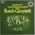 ブッシュ四重奏団のベートーヴェン/後期弦楽四重奏曲集   独EMI 2921 LP レコード
