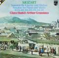 グリュミオー&ハスキルのモーツァルト/ヴァイオリンソナタ集   蘭PHILIPS 2921 LP レコード