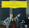 フルニエ&グルダのベートーヴェン/チェロソナタ第1&2番 独DGG 2899 LP レコード