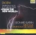 スラットキンのドヴォルザーク/交響曲第9番「新世界より」 独TELARC 2823 LP レコード
