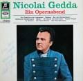【直筆サイン入り】ゲッダの「オペラの一夜」 独Columbia 2829 LP レコード
