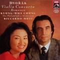 チョン&ムーティのドヴォルザーク/ヴァイオリン協奏曲 独EMI 2829 LP レコード