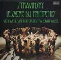 マゼールのストラヴィンスキー/「春の祭典」 蘭DECCA 2829 LP レコード