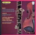 グリュミオー&ホリガーらのバッハ/ヴァイオリンとオーボエのための協奏曲ほか 仏PHILIPS 2829 LP レコード