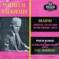 バックハウス&シューリヒトのブラームス/ピアノ協奏曲第2番 英DECCA オリジナル盤 2823 LP レコード