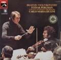 パールマン&ジュリーニのブラームス/ヴァイオリン協奏曲 独EMI 2908 LP レコード