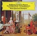 メロス四重奏団のモーツァルト/弦楽四重奏曲第14&15番 独DGG 2908 LP レコード