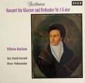 バックハウス&イッセルシュテットのベートーヴェン/ピアノ協奏曲第4番 独DECCA 2832 LP レコード