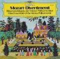 ウィーン・フィル管楽アンサンブルのモーツァルト/ディヴェルティメント 独DGG 2908 LP レコード