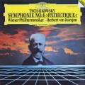 カラヤンのチャイコフスキー/交響曲第6番「悲愴」 独DGG 2908 LP レコード