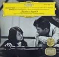 アルゲリッチ&アバドのプロコフィエフ&ラヴェル/ピアノ協奏曲集 独DGG 2832 LP レコード