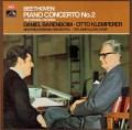 バレンボイム&クレンペラーのベートーヴェン/ピアノ協奏曲第2番ほか 英EMI 2832 LP レコード