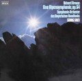 ショルティのR.シュトラウス/アルプス交響曲 独DECCA 2912 LP レコード