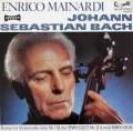 マイナルディのバッハ/無伴奏チェロ組曲第1&2番 独eurodisc 2920 LP レコード