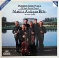 ムジカ・アンティクヮ・ケルンのパッヘルベル/カノンとジーグほか 独ARCHIV 2912 LP レコード