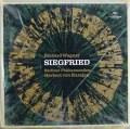未開封:カラヤンのワーグナー/楽劇「ジークフリート」 独DGG 2912 LP レコード