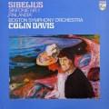 デイヴィスのシベリウス/交響曲第1番&「フィンランディア」 蘭PHILIPS 2920 LP レコード