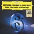 カラヤンのベートーヴェン/交響曲第6番「田園」 独DGG 2912 LP レコード