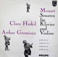 グリュミオー&ハスキルのモーツァルト/ヴァイオリンソナタ集 蘭PHILIPS 2920 LP レコード