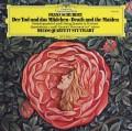 メロス四重奏団のシューベルト/弦楽四重奏曲「死と乙女」&「四重奏断章」 独DGG 2912 LP レコード