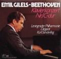 ギレリス&ザンデルリンクのベートーヴェン/ピアノ協奏曲第1番 独Auslese 2920 LP レコード