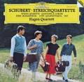 ハーゲン四重奏団のシューベルト/「ロザムンデ」ほか 独DGG 2912 LP レコード