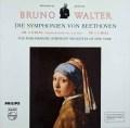 ワルターのベートーヴェン/交響曲第5番「運命」&第9番「合唱つき」 独PHILIPS 2920 LP レコード