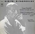 ミトロプーロスのショスタコーヴィチ/交響曲第10番ほか 独CBS 2912 LP レコード