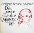 ズスケ四重奏団のモーツァルト/「ハイドンセット」 独EURODISC  2912 LP レコード