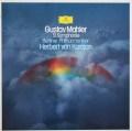 カラヤンのマーラー/交響曲第9番 独DGG 2912 LP レコード