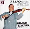 シェリングのバッハ/無伴奏ヴァイオリンソナタとパルティータ  独DACAPO 2912 LP レコード