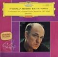 【赤ステレオ】リヒテルのラフマニノフ/ピアノ協奏曲第2番ほか  独DGG 2834 LP レコード