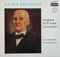 クナッパーツブッシュのブルックナー/交響曲第4番「ロマンティック」 独DECCA 2910 LP レコード