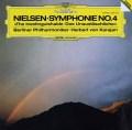 カラヤンのニールセン/交響曲第4番「不滅」 独DGG 2920 LP レコード