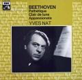 ナットのベートーヴェン/ピアノソナタ「悲愴」「月光」「熱情」 仏EMI(VSM) 2910 LP レコード