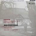 マウツジンスキ&ジュスキントのショパン/ピアノ協奏曲第2番 英Columbia 2905 LP レコード