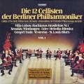 ベルリンフィルの12人のチェロ奏者たち 第1巻 独TELEFUNKEN 2905 LP レコード
