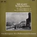 【オリジナル盤】クレンペラーのモーツァルト/交響曲第29&33番 英Columbia 2834 LP レコード