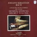 シェリング&ヴァルヒャのバッハ/ヴァイオリンとチェンバロのためのソナタ集 蘭PHILIPS 2920 LP レコード