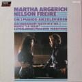 アルゲリッチ&フレイレの2台のピアノのための作品集 蘭PHILIPS  2705 LP レコード