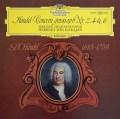 カラヤンのヘンデル/合奏協奏曲作品6より第2,4&6番  独DGG 2910 LP レコード