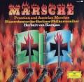 カラヤンのドイツ行進曲集 独DGG 2910 LP レコード