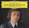 ツィンマーマンのショパン/14のワルツ集 独DGG 2910 LP レコード