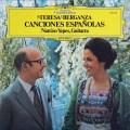 ベルガンサ&イエペスの「スペイン歌曲集」 独DGG 2910 LP レコード